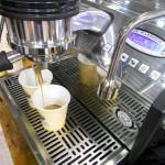 La Marzocco, a máquina de espresso no nosso stand